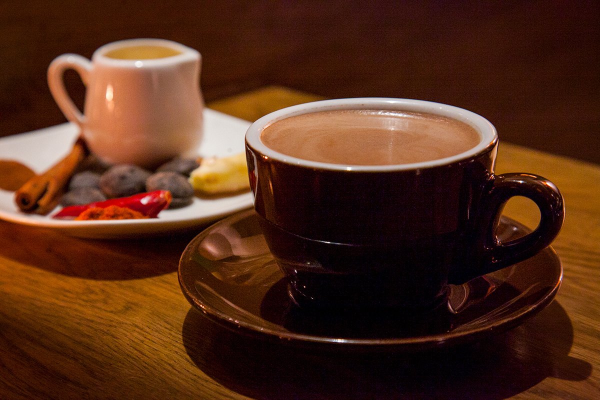 Where to get hot chocolates in Shanghai
