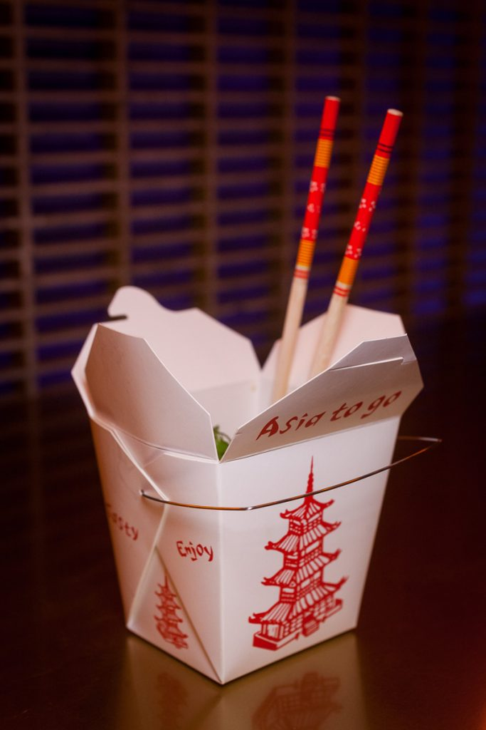 UP Shanghai is a cocktail bar/lounge in Shanghai. Bar Bites served in takeaway boxes