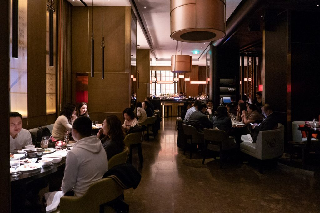 Best restaurants in Shanghai on the Bund - Upscale Cantonese restaurant Hakkasan. Photo by Rachel Gouk.