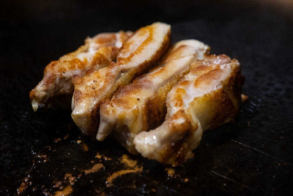 Hibachi Chicken at Kagen, a popular Japanese teppanyaki restaurant in Shanghai. Photo by Rachel Gouk.