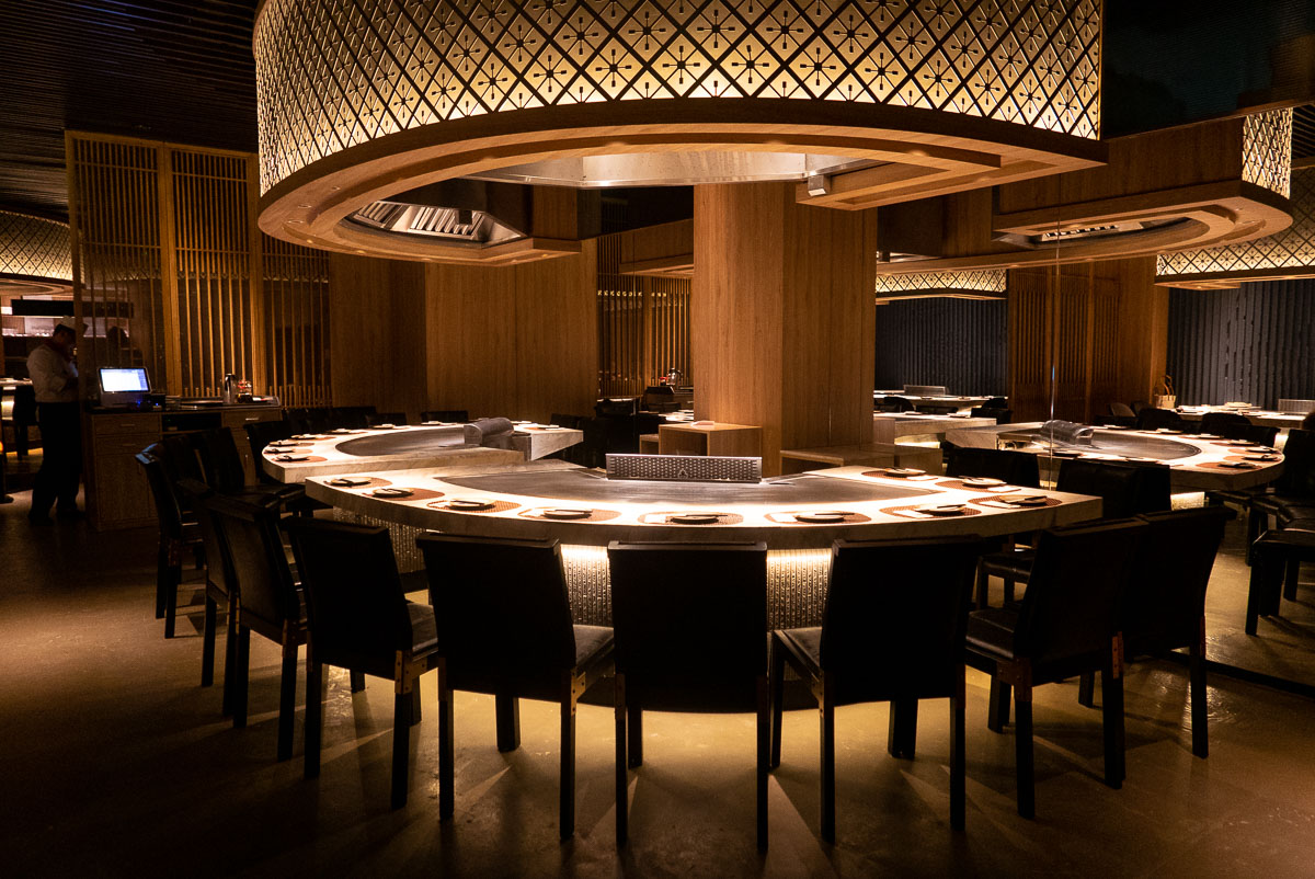 Kagen, a popular Japanese teppanyaki restaurant in Shanghai. Photo by Rachel Gouk.