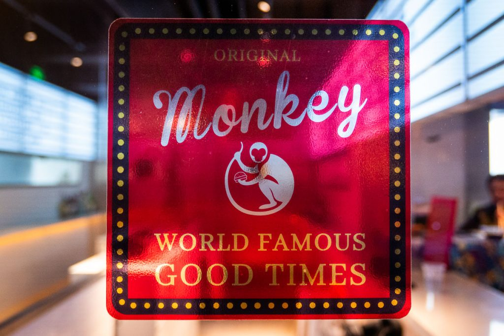 Monkey, a cocktail bar and lounge in Shanghai. Photo by Rachel Gouk.