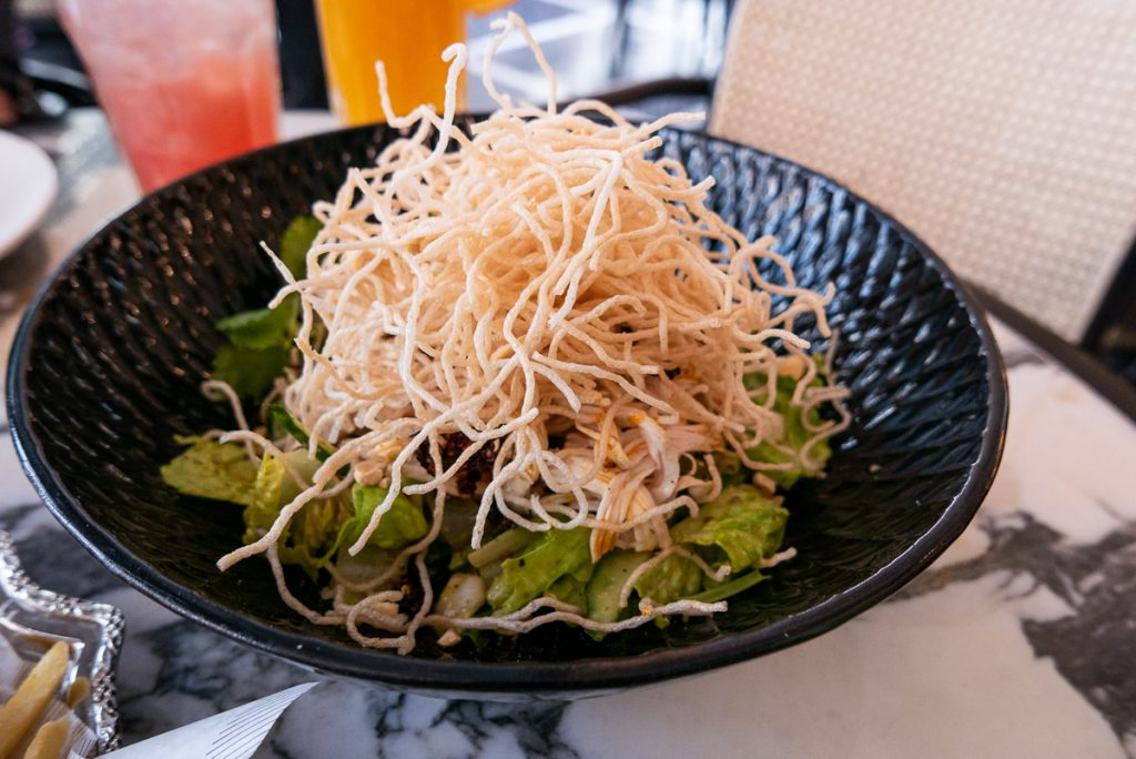 Singapore's popular PS.Cafe opens in Shanghai. Samsui Salad. Photo by Rachel Gouk.