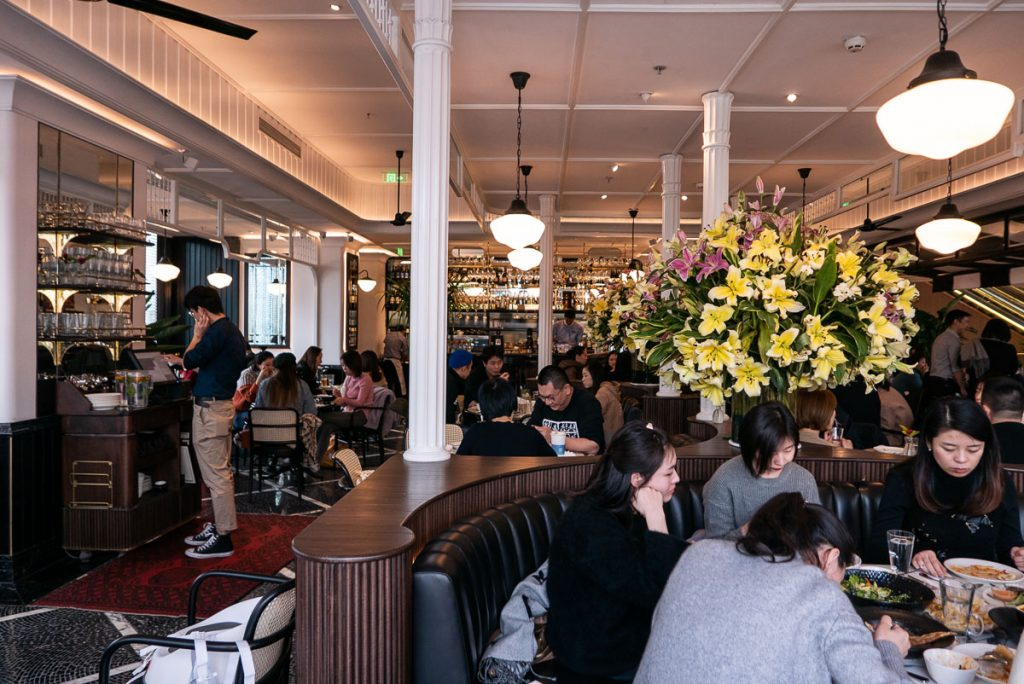 Singapore's popular PS.Cafe opens in Shanghai. Photo by Rachel Gouk.