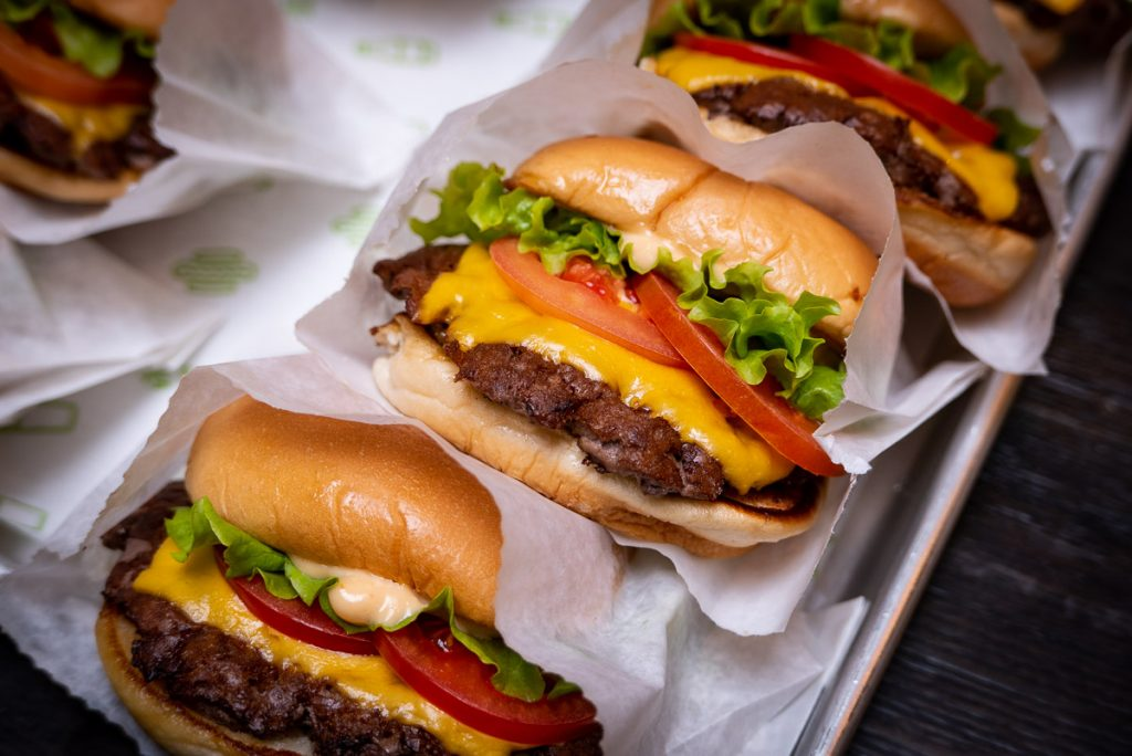 Shake Shack opens in Shanghai's Xintiandi. Here pictured: ShackBurger®. Photo by Rachel Gouk.
