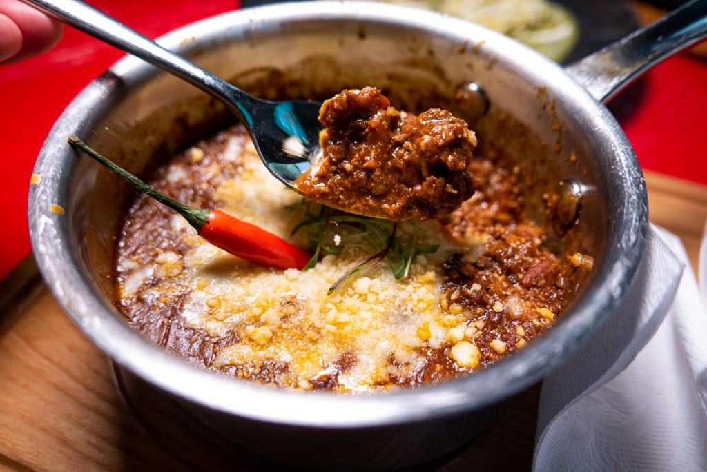 Chili at Pistolera, a Mexican restaurant in Shanghai. Photo by Rachel Gouk.