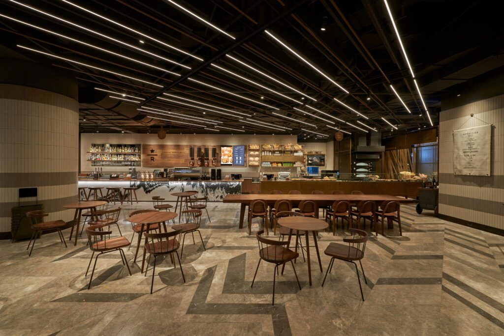 Starbucks opens its first Reserve Bakery Cafe in Shanghai, China, an all-day dining cafe with Italian bakery chain Princi.