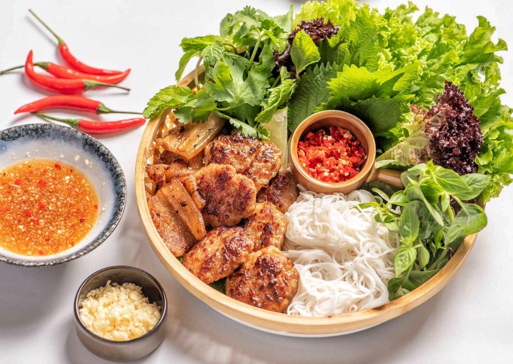 Bun Cha Cha, a Vietnamese restaurant in Shanghai specializing in bun cha. Photo by Rachel Gouk.