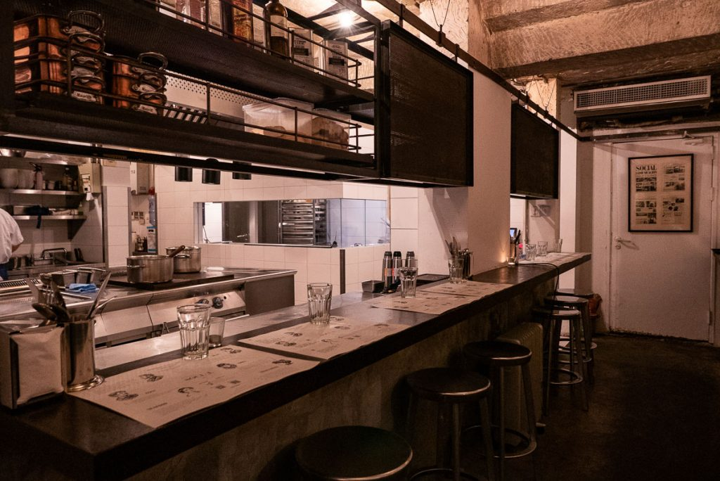 The Commune Social, a popular Mediterranean restaurant in Shanghai, good for brunch. Photo by Rachel Gouk.