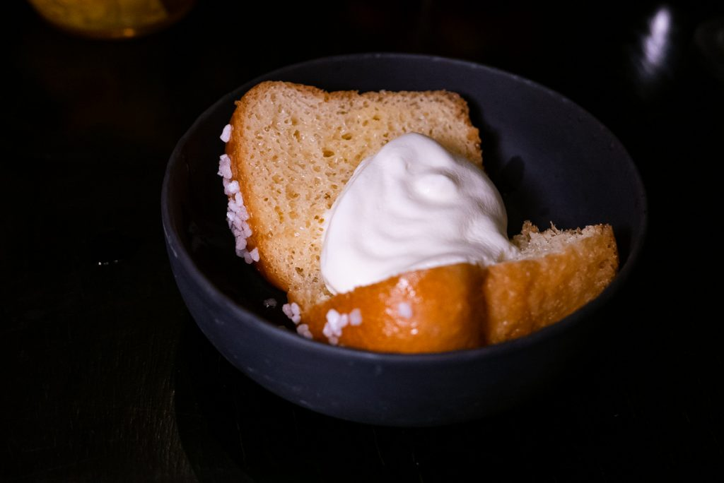Baba Au Rhum at Polux by Paul Pairet, a French cafe/bistro in Xintiandi. Photo by Rachel Gouk. © Rachel Gouk