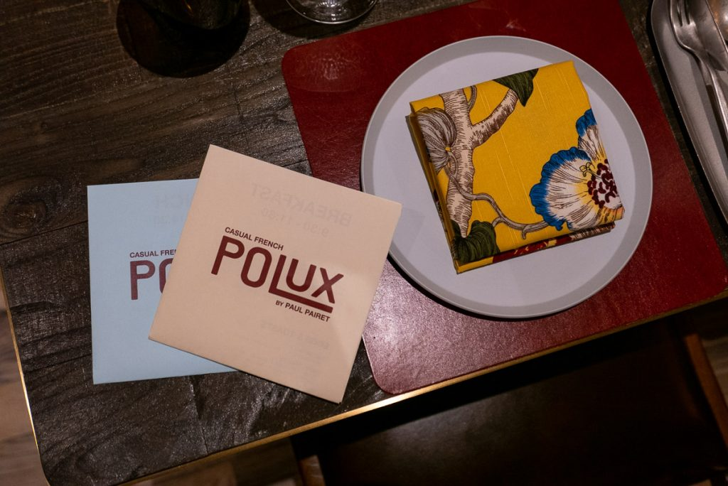 Polux by Paul Pairet, a French cafe/bistro in Xintiandi. Photo by Rachel Gouk. © Rachel Gouk