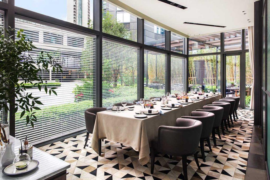 Frasca Italian restaurant at the Middle House, Shanghai.