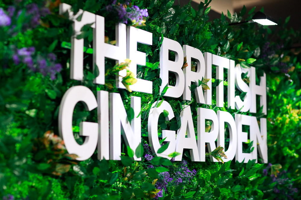 The British Gin Garden, Shanghai.