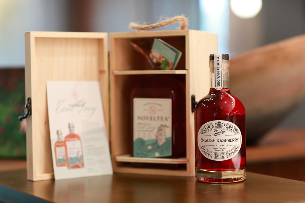 Wilkin and sons English Raspberry gin liqueur