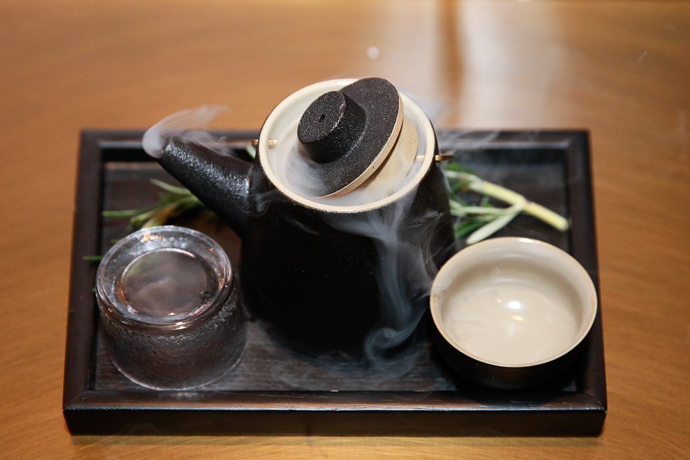 Secret Tea by James Zhou at The British Gin Garden, Shanghai.