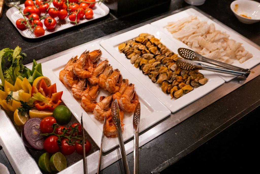 The brunch buffet at Portman's Restaurant, Portman Ritz-Carlton Shanghai. Photo by Rachel Gouk.