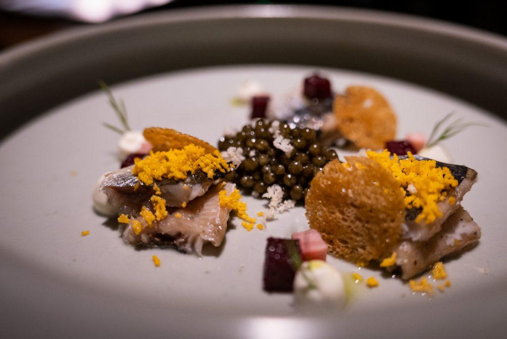 Shanghai's Michelin one-star restaurant Taian Table. Menu 20. Photo by Rachel Gouk.