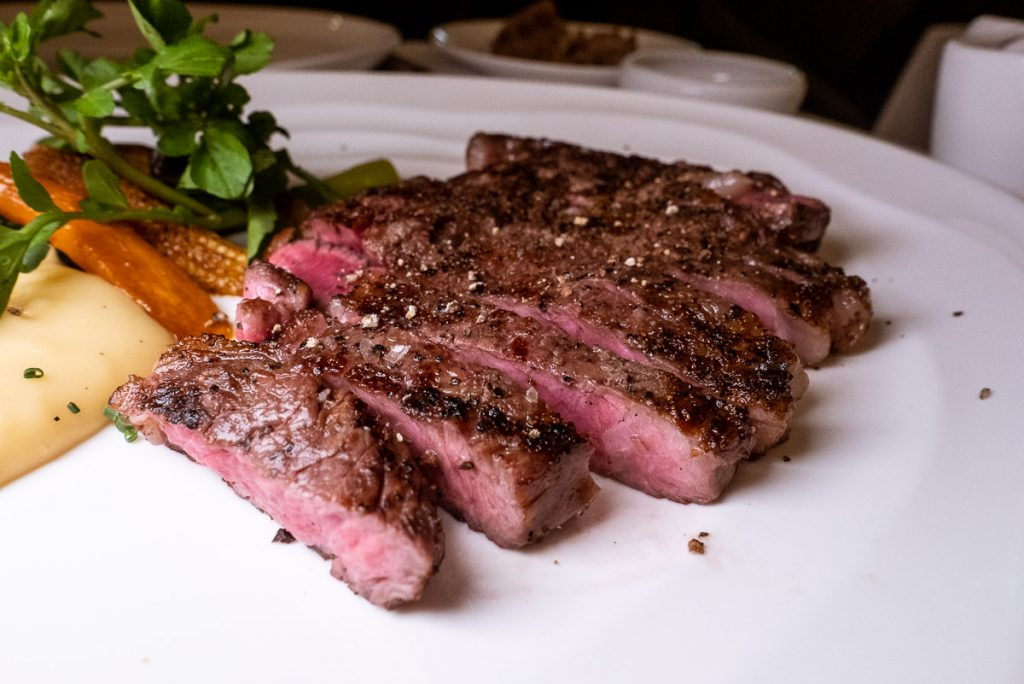 37 Steakhouse and Bar, a steak-focused restaurant in Plaza 66, Shanghai. Photo by Rachel Gouk.