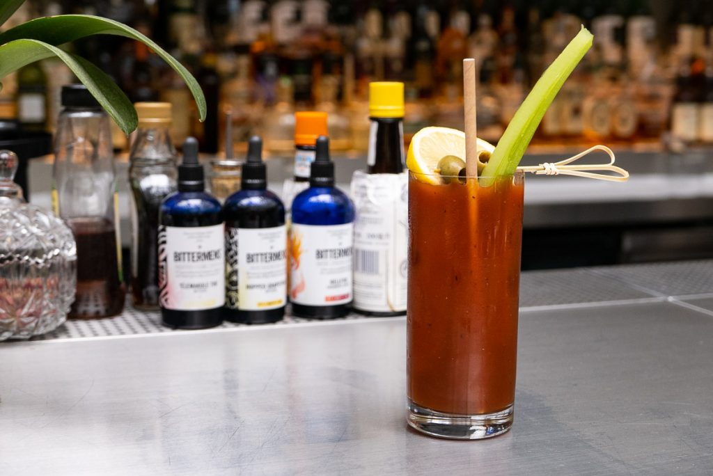 Bloody Mary at FED by July. Photo by Rachel Gouk.
