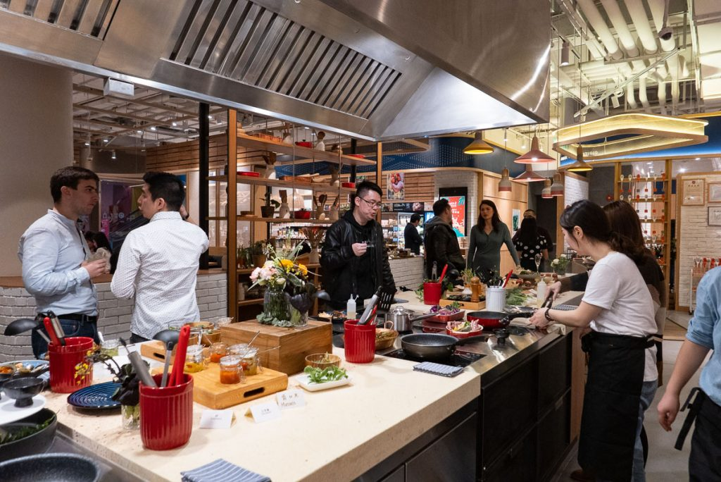 Hunter Gatherer Open Kitchen, a healthy restaurant in Shanghai.