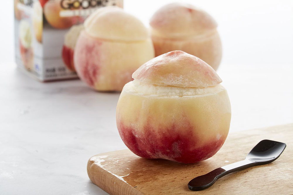 ALDI Shanghai, China products—Peach sorbet