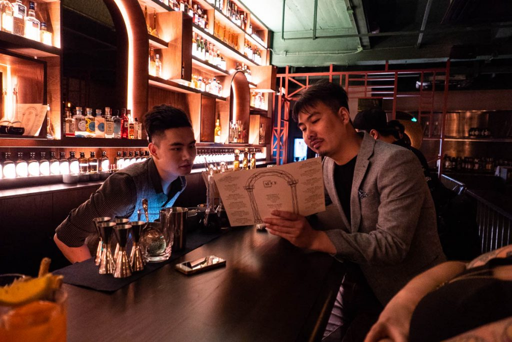 Daniel An, proprietor of Arch by Taste Buds — a cocktail bar in Shanghai. Photo by Rachel Gouk.