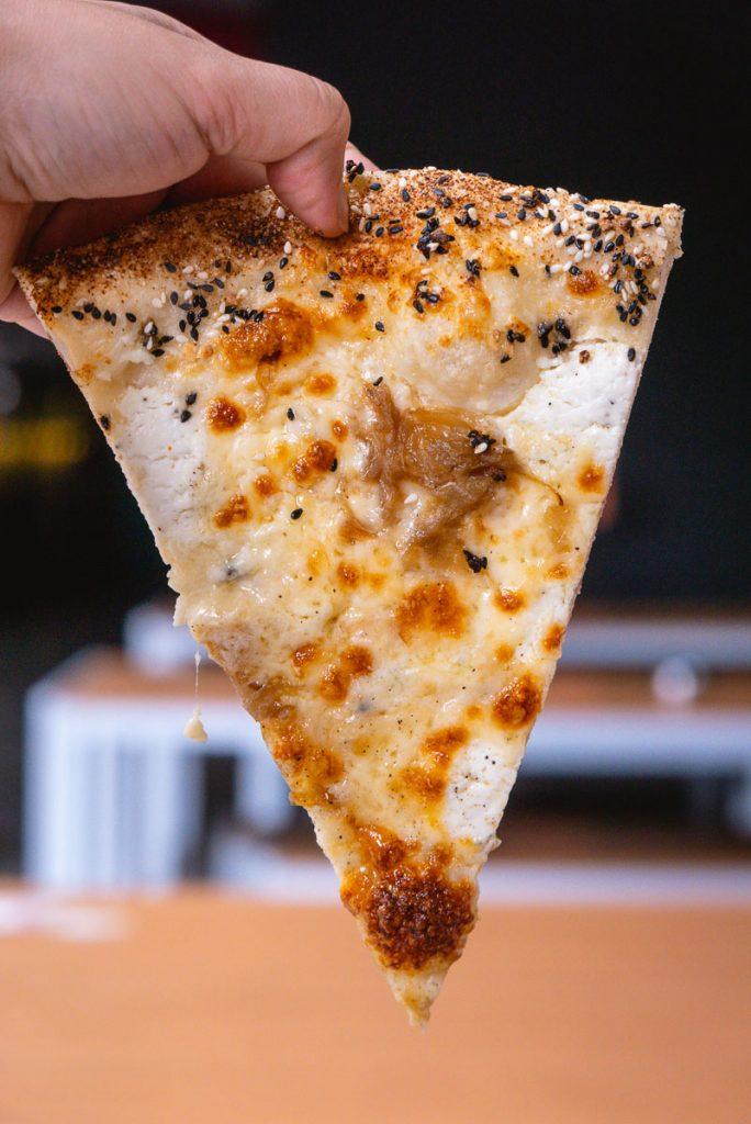 Homeslice Pizza Shanghai, summer 2019 pizzas. Photo by Rachel Gouk.