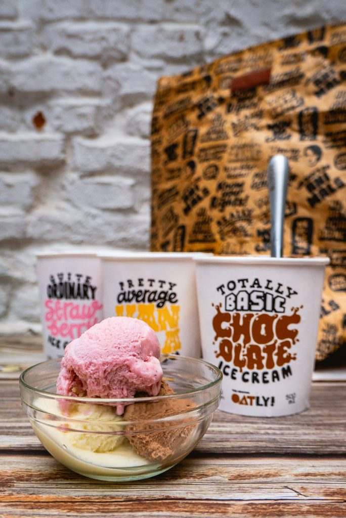 Oatly launches ice cream in China, starting with Shanghai via Tmall. Photo by Rachel Gouk.