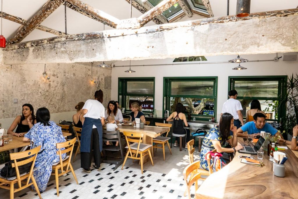 RAC cafe opens a second location in Shanghai. Photo by Rachel Gouk.