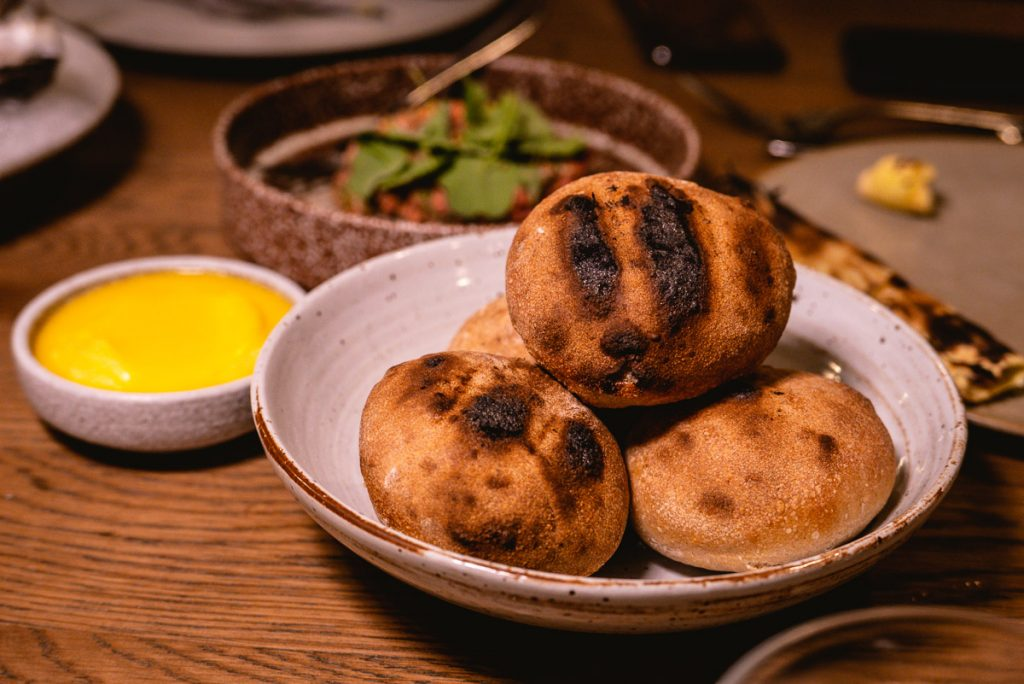 Food at BOR Eatery, a restaurant in Shanghai. Photo by Rachel Gouk