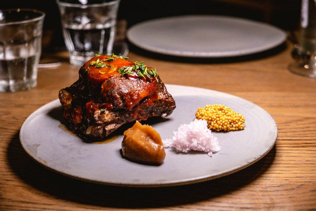 BBQ Pork Ribs at BOR Eatery, a restaurant in Shanghai. Photo by Rachel Gouk