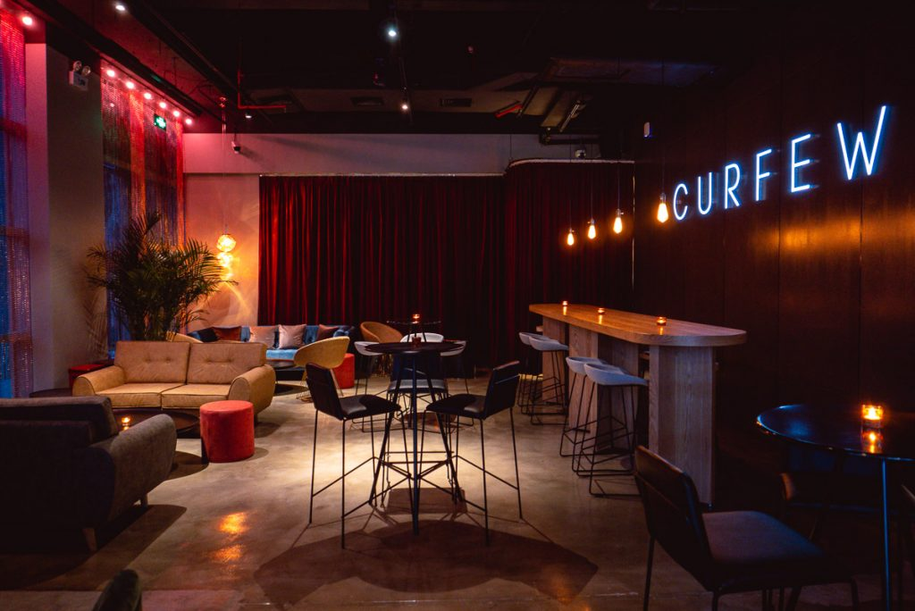 Curfew is an LGBT-friendly cocktail bar and lounge near Huaihai Zhong Lu, Shanghai. Photo by Rachel Gouk.