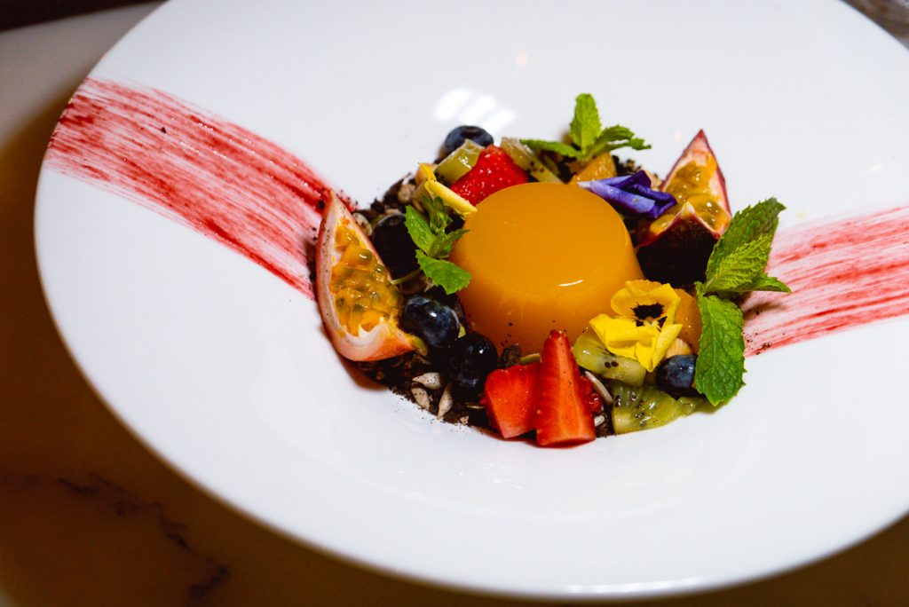 Dessert at Head in the Clouds, an all-day brunch restaurant in Shanghai. (Photo by Rachel Gouk)