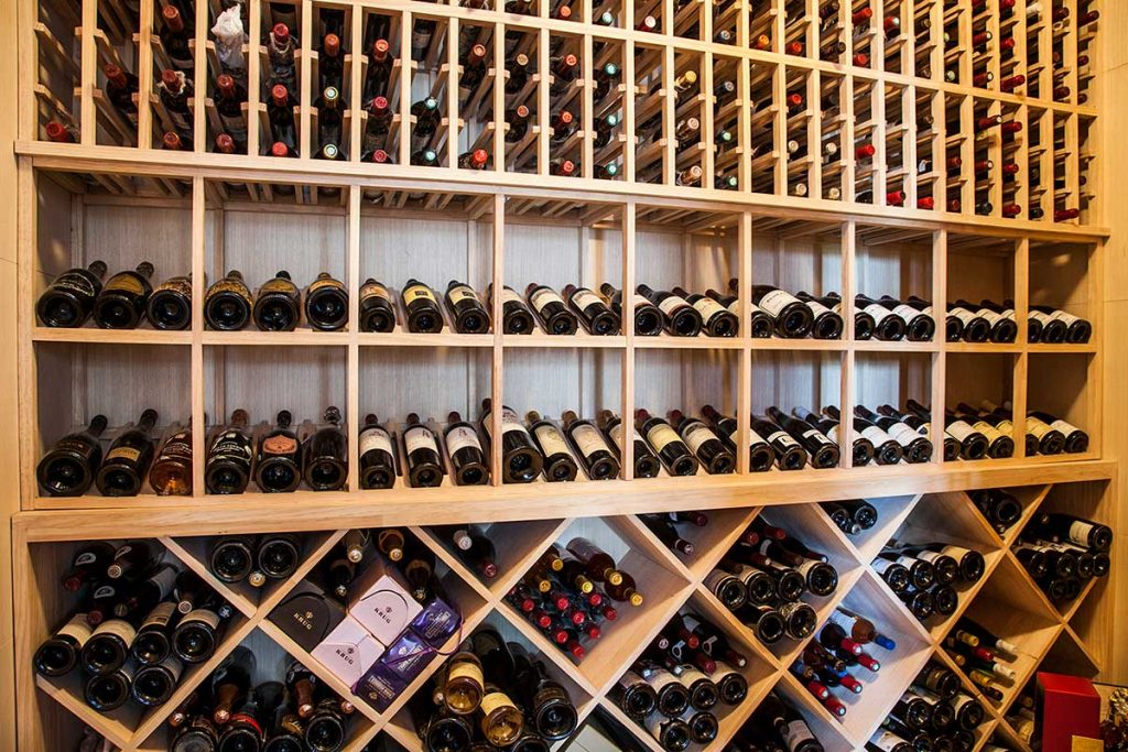 Napa Wine Bar & Kitchen, a modern European restaurant in Shanghai with  an excellent wine selection. Photo by Rachel Gouk.
