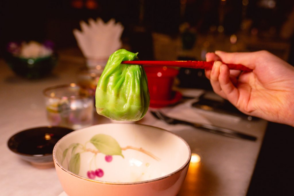 Sichuan cuisine at The Peacock Room, a contemporary Chinese restaurant in Shanghai. Photo by Rachel Gouk