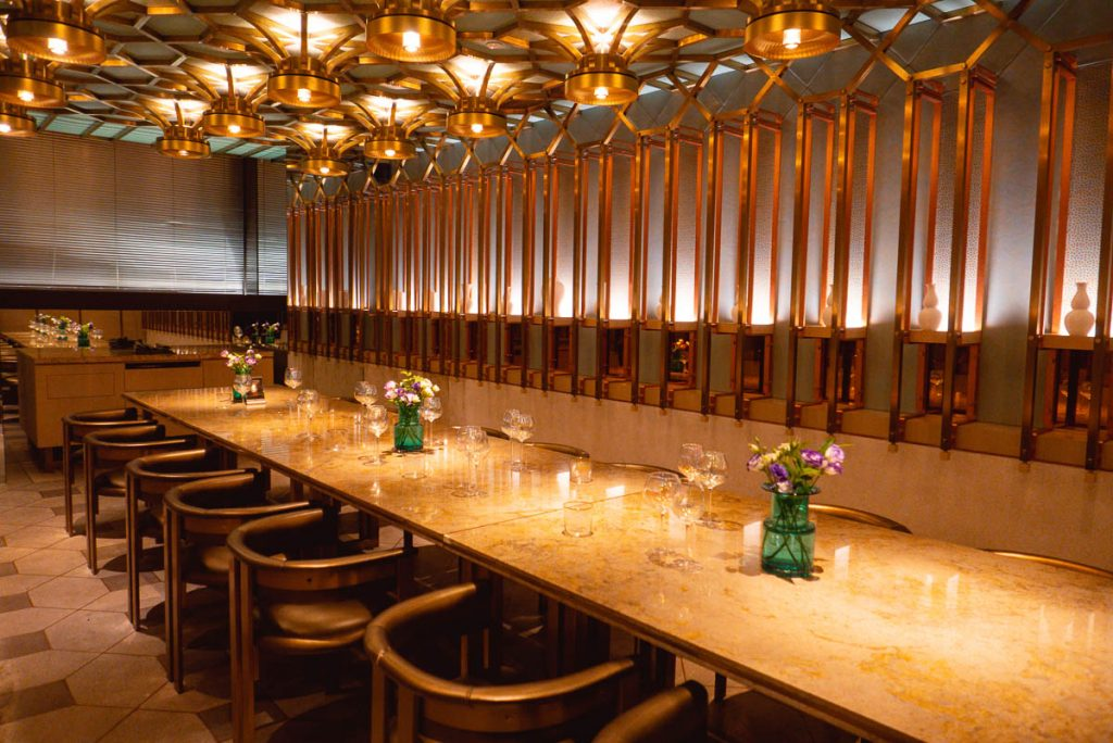 The Peacock Room, a contemporary Chinese restaurant in Shanghai. Photo by Rachel Gouk