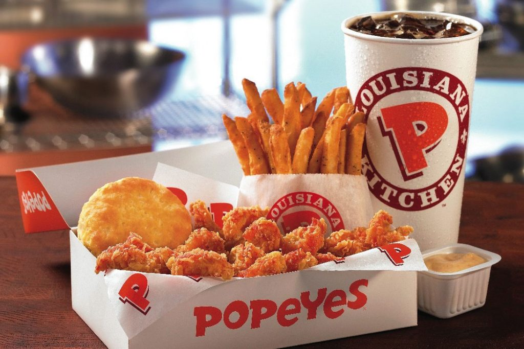 Popeyes chicken to open 1500 stores in China