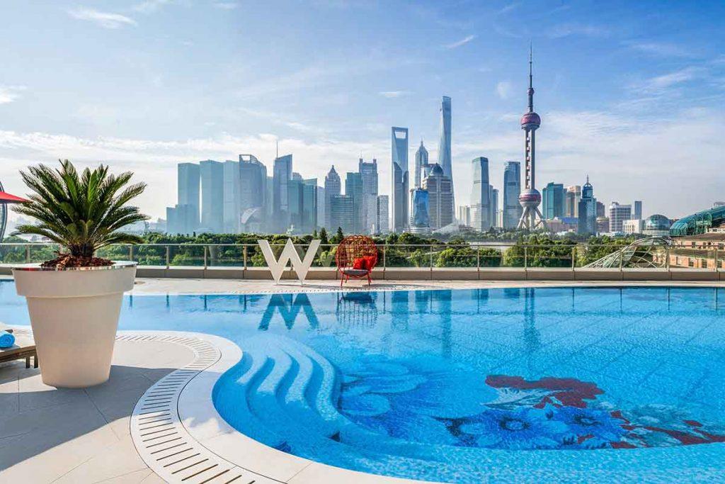 Hotels in Shanghai: W Shanghai.