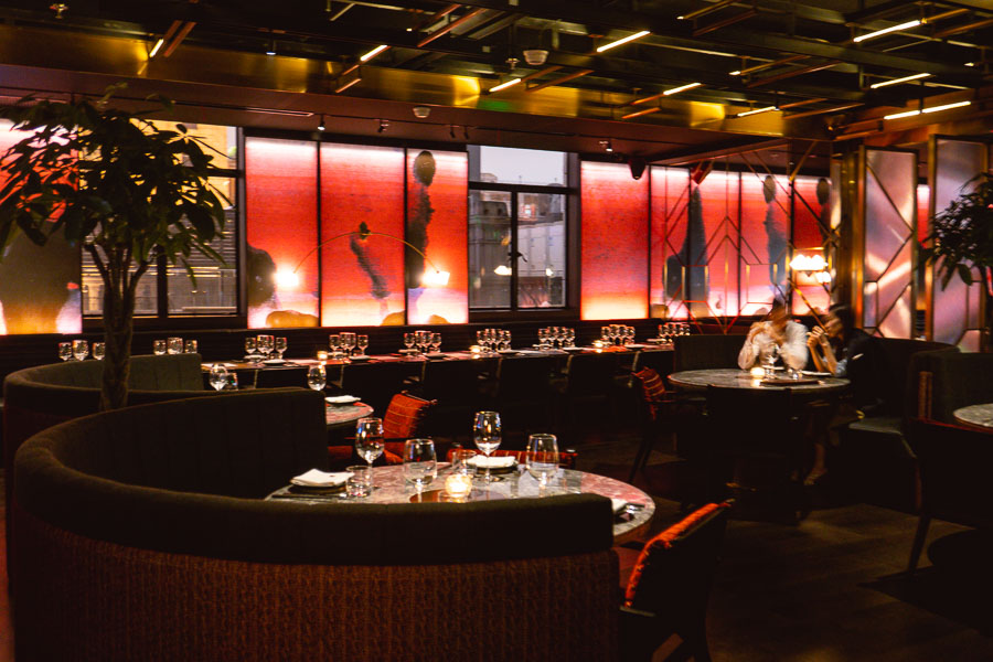 CÉ LA VI Shanghai, a restaurant, bar, and club located on the Bund. Photo by Rachel Gouk.