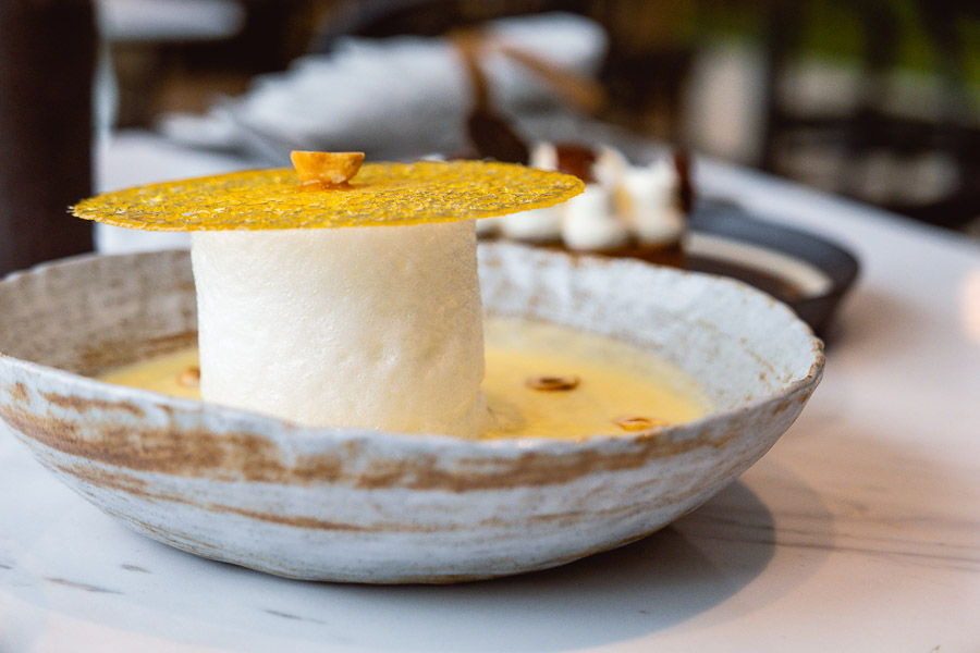 Desserts at Oxalis, contemporary French restaurant in Shanghai. Photo by Rachel Gouk