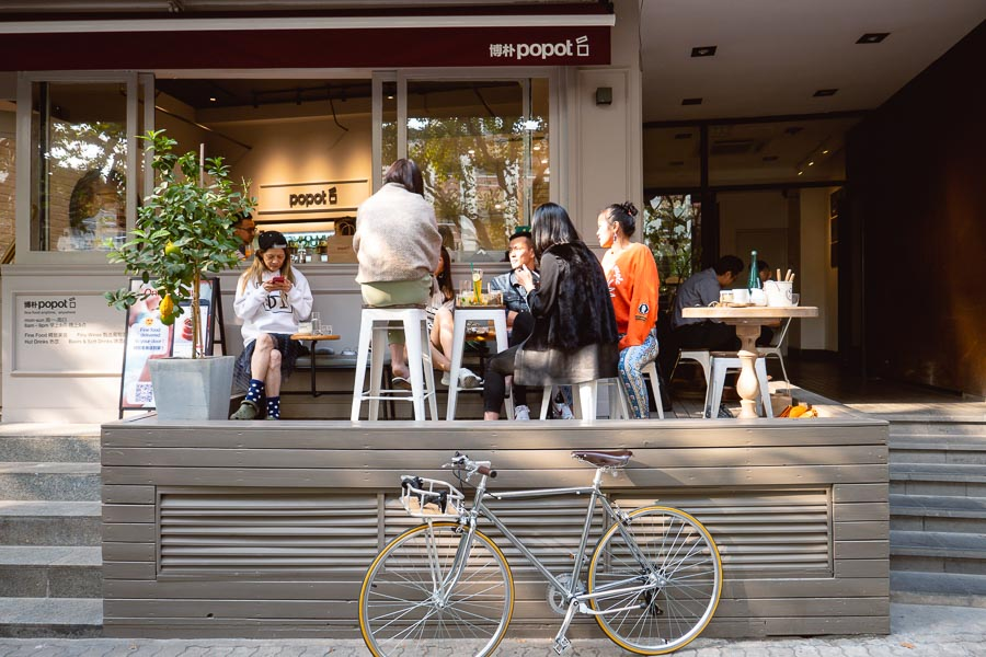 Popot, a French cafe in Shanghai. Photo by Rachel Gouk @ Nomfluence.