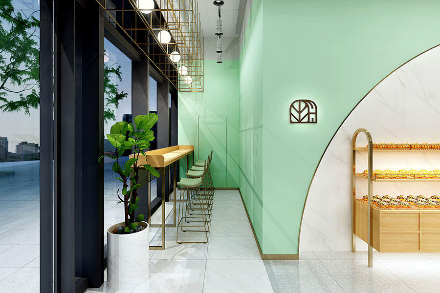 Sour Dough bakery in Shanghai.