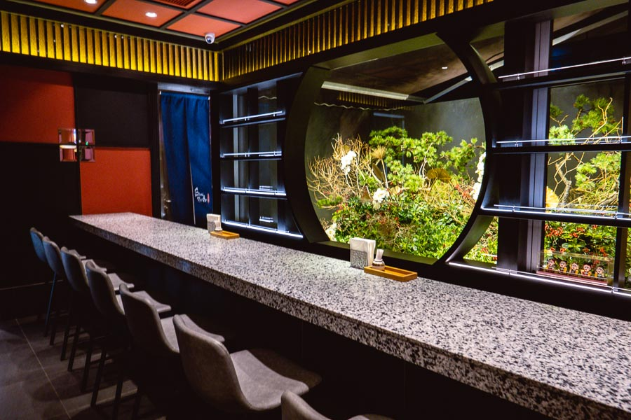 Sushi Naoki, a high-end Japanese omakase restaurant in Shanghai. Photo by Rachel Gouk.