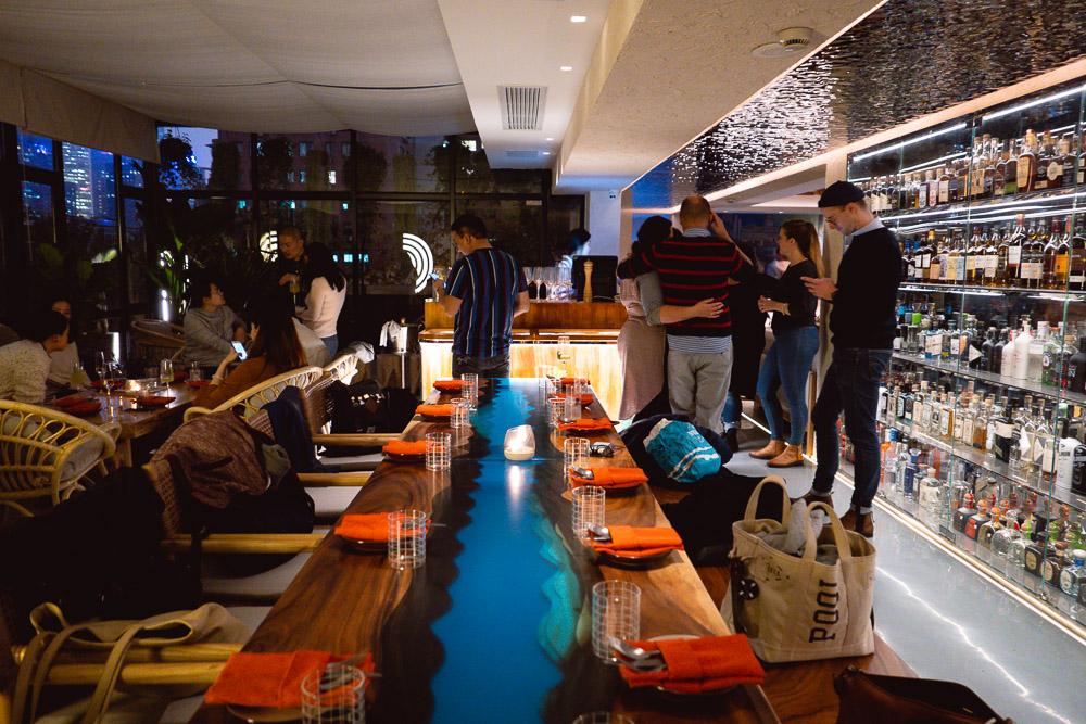 Chameleon, cocktail bar and restaurant in Shanghai. Photo by Rachel Gouk.