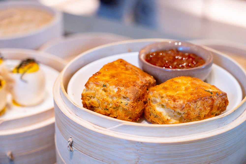 Biscuits. Brunch at Heritage by Madison, a restaurant in Shanghai. Photo by Rachel Gouk.