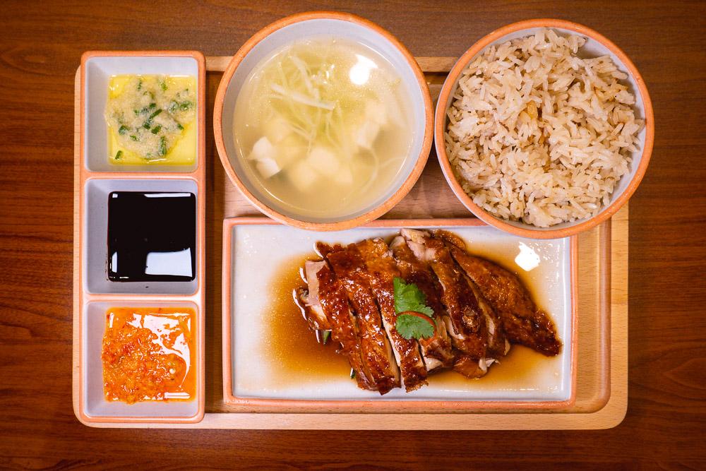 Xinya Hainanese Chicken Rice restaurant in Shanghai. Photo by Rachel Gouk.