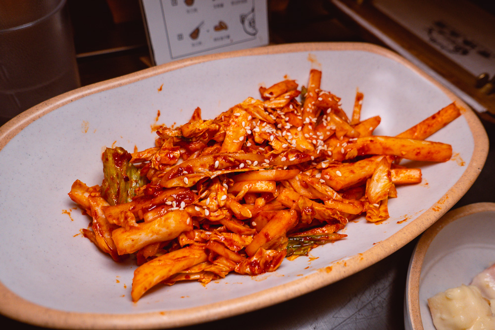 Kimchi at Botong Sikdang, a popular Korean restaurant in Shanghai that does grilled pork and banchan. Photo by Rachel Gouk.