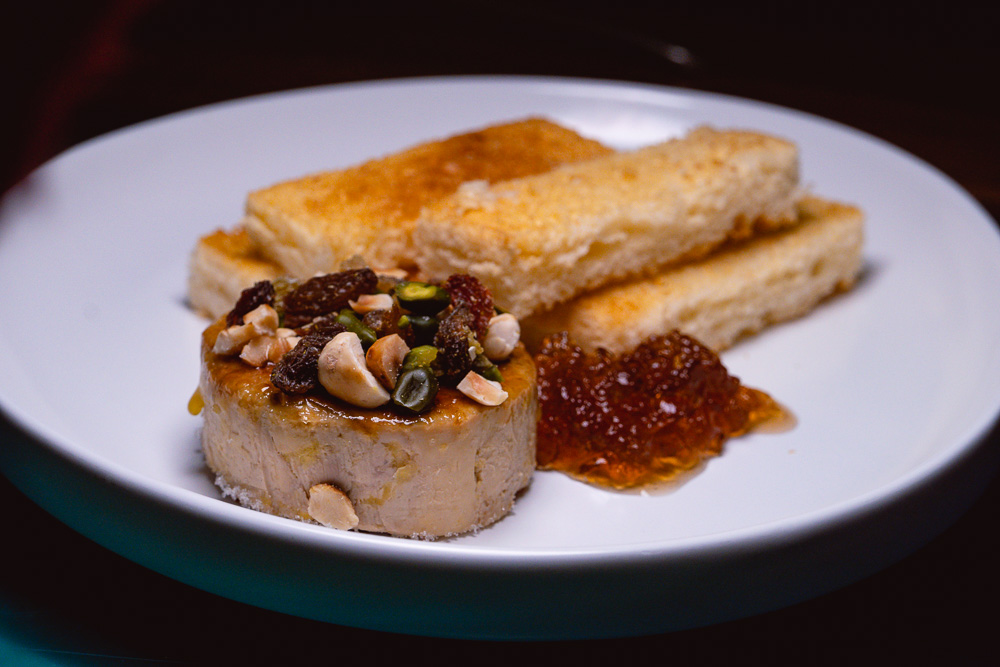 Foie Gras at Chameleon, a cocktail bar and restaurant in Shanghai. Photo by Rachel Gouk.
