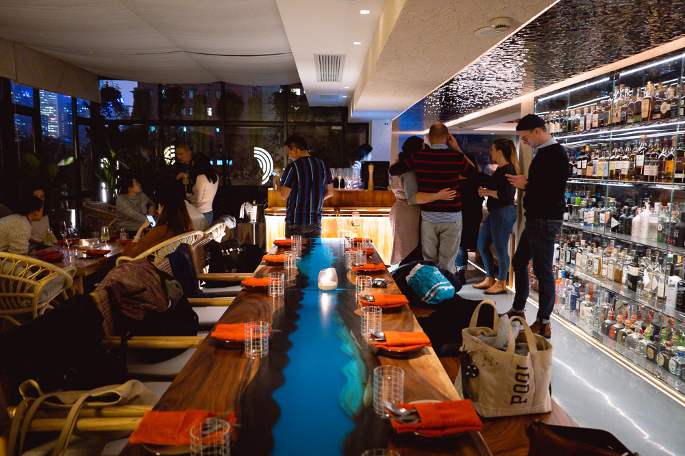Chameleon is cocktail bar and restaurant in Shanghai by mixologists Carson Xie and Eddy Yang. Photo by Rachel Gouk.