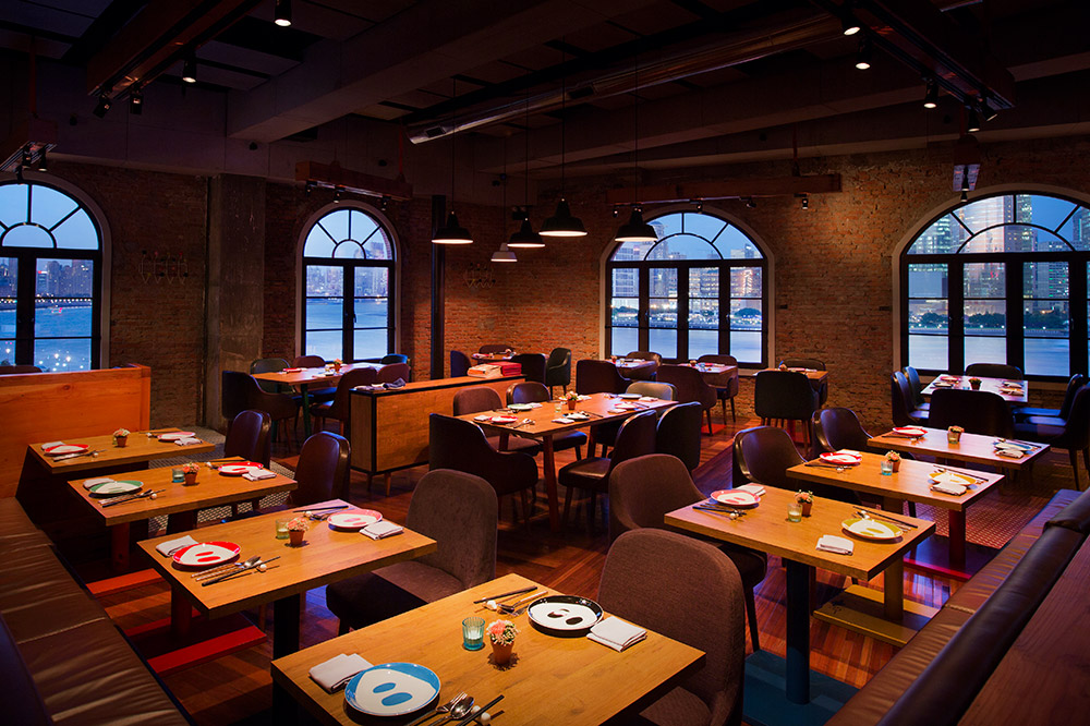 Best restaurants on the Bund, Shanghai - el Willy for Spanish cuisine and tapas. Photo by Rachel Gouk.